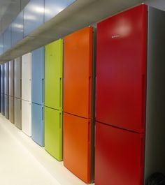 rainbow fridges