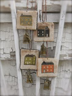 "Love these little 2"" square creations from Notforgotten Farm. Picture 1 of 2."