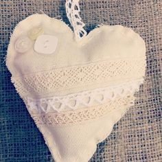 Hanging hearts now available http://ift.tt/1SRQI6a #rustic #heart #natural #textural #sewing #display #pretty #handmade by creativekateee