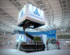 """Check out new work on my @Behance portfolio: """"Exhibition stand for """"…"""