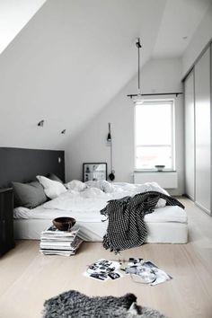 Chambre sous combles : 10 idées d\'aménagement   Loft Life ...