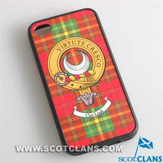 Leask Clan Crest iPhone Cover