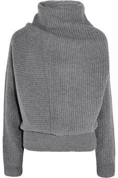 Acne Studios|Jacy oversized ribbed wool turtleneck sweater|NET-A-PORTER.COM