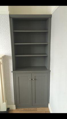 Moles breath painted cupboard