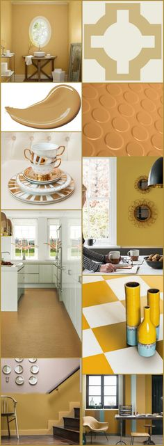 Dulux's colour of the year 2016 is Cherished Gold: the trend ranges from ochre yellows to warm mustards. See how well our flooring matches the trend. Featured above are: Dimples Rubber in Jaffa, Urban Colours Copper, Colours Collection Yellow and Neisha Crosland's Mimosa.