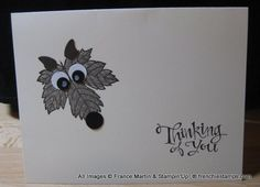 Wolf Magnificent Maple by France Martin - Cards and Paper Crafts at Splitcoaststampers