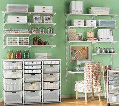Ideas para decorar un espacio para las manualidades
