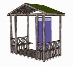 House Front, Foyer, Ideas Para, Gazebo, Home Improvement, Sweet Home, House Ideas, Villa, Outdoor Structures