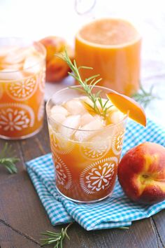 Serve Peach-Rosemary