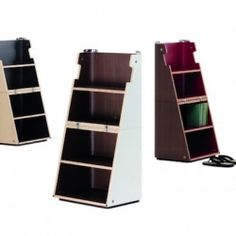 This multitasking object can be used as a side or ocasional table, stool, shelving unit or a stepladder.