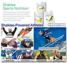 Wanna find out what the Pure Performance Team is fueling up with during the Olympics starting tomorrow?  http://taraschoicellc.myshaklee.com/us/en/category.php?main_cat=Nutrition&sub_cat=SportsNutrition