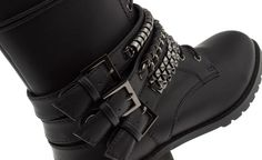 Military Grunge Boots!  PARFOIS | Handbags and accessories online