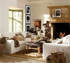 #pbstyletip: Add decorative pillows and cozy throws to complete a classic festive look!