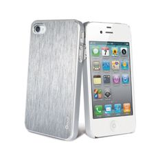 Lets go silver! Muvit iPhone 4(S) Metal Case Silver