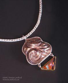 Indira IV, necklace  Victoria Lansford