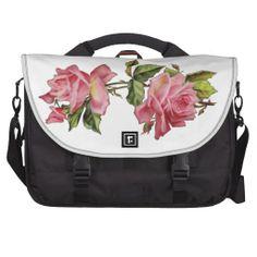 """Vintage Print """"Rose Vine"""" Bag"""