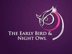 The Early Bird & Night Owl logo design concepts Designs To Draw, Cool Designs, Owl Sketch, Owl Logo, Night Owl, Early Bird, Totems, Design Concepts, Logo Design Contest