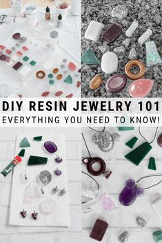 Learn how to make resin jewelry. These resin ideas will inspire even beginner resin crafters. I'm sharing everything you need to know including troubleshooting 8 common issues when making resin jewelry. Resin Jewelry Molds, Resin Jewlery, Making Resin Jewellery, Resin Molds, Silicone Molds, Diy Jewellery, Jewelry Shop, Diy Resin Art, Diy Resin Crafts