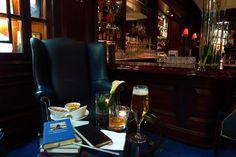 0180: GeS03 2/12. Frankfurt, Germany, (Schopenhauer's hometown), km 102'302, Autoren Bar im Steigenberger, 24 May 2011, 23:55 (local time): Beer and Oban (amazing old French barman, fluently cursing Hegel in German)