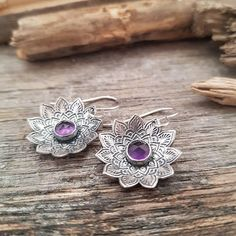 Check out this item in my Etsy shop https://www.etsy.com/listing/602385867/silver-mandala-earrings-sterling-silver