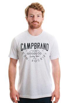 TRIED AND TRUE T-SHIRT // TRI WHITE   Camp Brand Goods