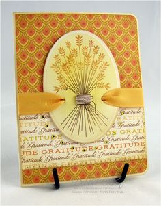 First Fruits Thanksgiving Card