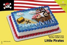 AVENTURAS PIRATAS Decoracion de Pastel para su fiesta infantil