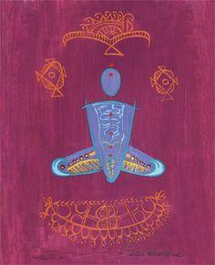 Yoga Art of Nancy Van Kanegan Yoga Symbols, Yoga Philosophy, Online Yoga, Yoga Art, Kundalini Yoga, Visionary Art, Best Yoga, Yoga Inspiration, Yoga Fitness
