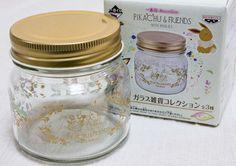 Pokemon Glass Candy Pot Pikachu Banpresto Pocket Monster JAPAN ANIME #BANPRESTO