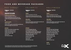 hoyts lux - Google Search Canapes Menu, Cinema Experience, Beverage Packaging, Year 2, Fine Wine, Case Study, Uni, Google Search, Food