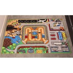 Dean would love this - Monster Jam Play Rug