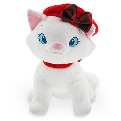 b141e9bad19 Disney Marie Holiday Plush - The Aristocats - 10 1 2 Inch..