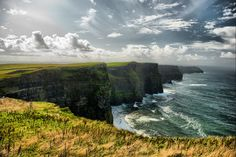 Should also be on my bucket list.  I so want to visit Ireland before I die.  Cliffs of Moher, Ireland