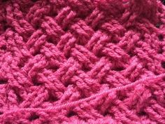 Keltische weefsteek haken- Toer 1,2 en 3 - Celtic weave stitch crochet