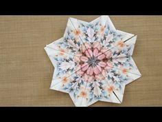 Easy Teabag Folding Star - YouTube