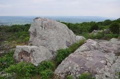 The view from Missouri's third-highest point
