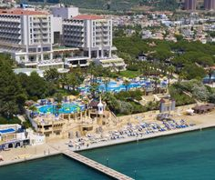 Fantasia Deluxe Hotel - All Inclusive Hotel All Inclusive, Hotels In Turkey, Kusadasi, Best Hotels, Vegas, Dolores Park, Tours, Mansions, House Styles