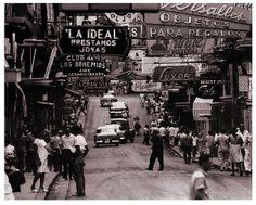 1950s Havana, Cuba on Calle Neptuno
