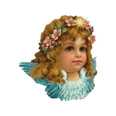 vintage My Blog ❤ liked on Polyvore featuring angels