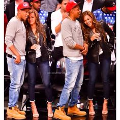Beyonce & Jay Z at the Brooklyn Nets game May 2nd, 2014