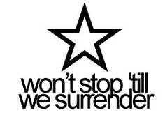louis tomlinson Harry Styles One Direction love Zayn Malik liam payne Niall Horan quote surrender tattoo star