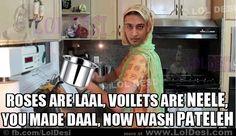 Haha Desi Humor, Daal, Indian, Humor