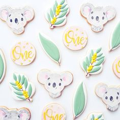 These cookies are so cute, not sure if it's the Australiana factor or that I had a super cute invite from to work with! First Birthday Decorations, Girl Birthday Themes, First Birthday Cakes, Birthday Cookies, 1st Birthday Parties, 2nd Baby Showers, Baby Shower Themes, Australian Party, Magic Party