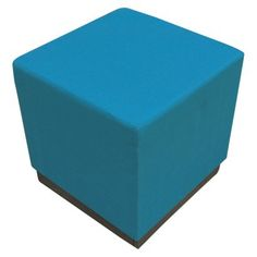 Threshold™ Square Patio Ottoman - instead of some expensive outdoor couch set