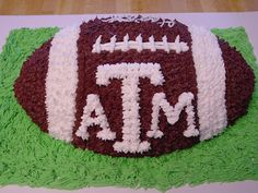 Aggie football cake! Whoop!