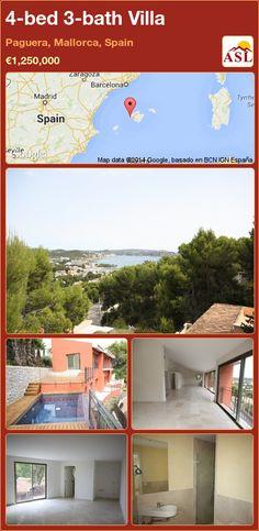 4-bed 3-bath Villa in Paguera, Mallorca, Spain ►€1,250,000 #PropertyForSaleInSpain