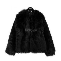 Gender: Women Outerwear Type: Fur & Faux Fur Material: Faux Fur Type: Wide-waisted Collar: O-Neck Sleeve Length: Full Closure Type: Open Stitch Patchwork Fu