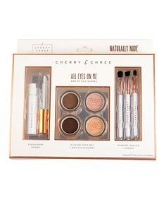 Loving this Cherry Chree Naturally Nude All Eyes on Me Makeup Set on #zulily! #zulilyfinds