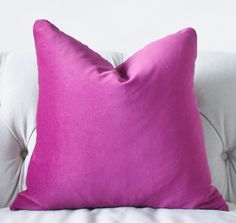 Decorative Designer Pillow  Radiant Orchid  by MotifPillows, $38.00