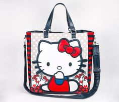 #ShopSimple Hello Kitty Tote Bag: Milk